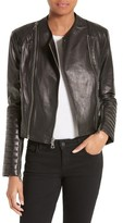 Alice + Olivia Women's Gamma Leather Jacket