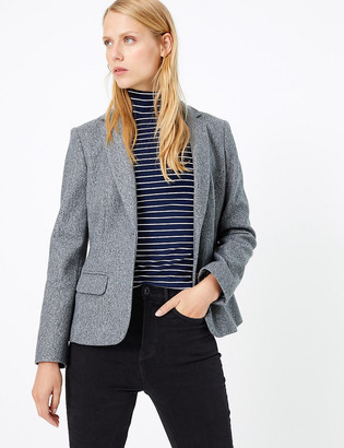 Marks and Spencer Flannel Jersey Blazer