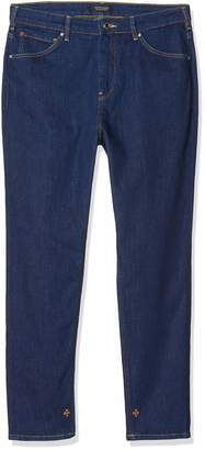 Scotch & Soda Maison Women's Haut Straight Jeans Blue (Fresh Rinse 3352) W36/L34 (size: 26/34)