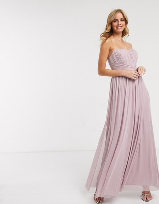Lipsy multiway maxi dress in lavender