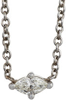 Sara Weinstock Women's Marquise Necklace-WHITE
