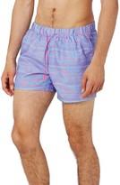 Topman Men's Wavey Swim Trunks