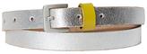 White Stuff Skinny Belt, Silver