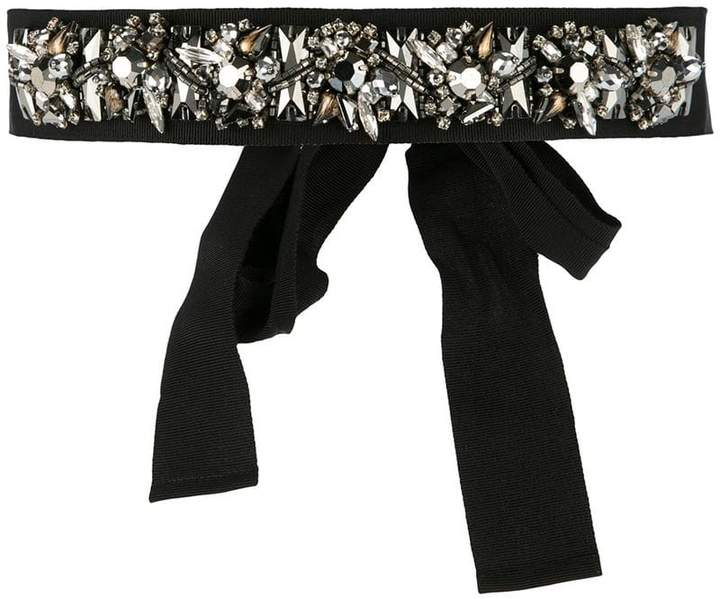 Dice Kayek embellished belt