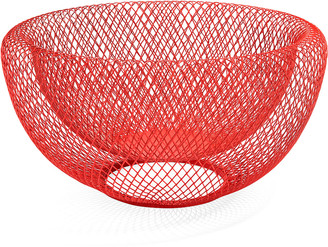 Moma Wire Mesh Bowl, Red