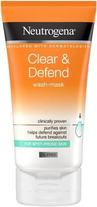 Neutrogena Clear & Defend Wash-Mask 150Ml