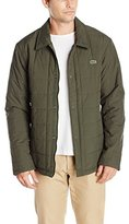 Lacoste Men's Quilted Car Coat