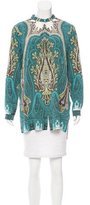 Etro Printed Button-Up Tunic
