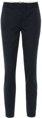 Polo Ralph Lauren Mid-rise skinny cotton blend pants
