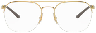 Ray-Ban Gold Youngsters Glasses