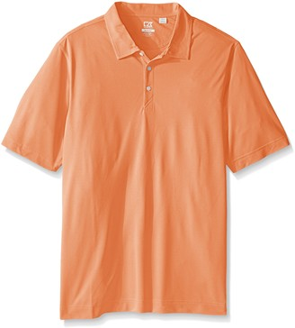 Cutter & Buck Men's Tall Cb Drytec Blaine Oxford Polo