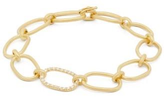 Irene Neuwirth Diamond & 18kt Gold Link Bracelet - Gold