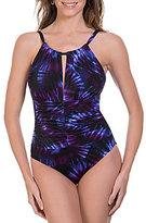 Magicsuit Cultre Club Kat Tie Dye High Neck One Piece Swimsuit