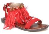 Sam Edelman Women's Genevia Feather Sandal