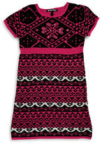 Planet Gold Girls 7-16 Sparkle Knit Dress