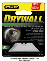 Stanley Hand Tools 3 Pack Heavy Duty Drywall Blades-937