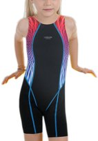 Perfashion Children Girl's Competive Legsuit Muscleback Swimsuit 6-7 Years