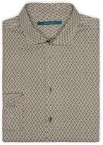 Perry Ellis Exclusive Diamond Print Shirt