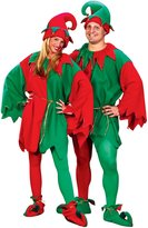 Fun World Costumes Men's Adult Promotional Elf Set. Hat Tunic Shoes