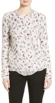 Joie Women's Feronia Floral Cashmere Sweater