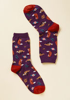 ModCloth Fox, Look, and Listen Socks