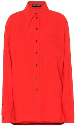 Kwaidan Editions Oversized wool-blend shirt
