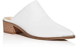 Marc Fisher Women's Young Pointed-Toe Block-Heel Mules