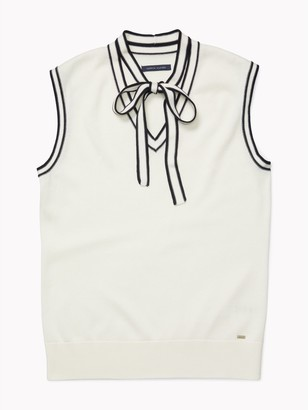 Tommy Hilfiger Essential Sleeveless Bow Sweater