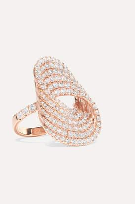 Anita Ko Infinity Forever 18-karat Rose Gold Diamond Ring - 6