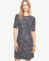 Ann Taylor Petite Textured Knit Dress