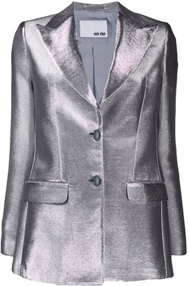 Each X Other metallic shimmering blazer