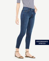 Ann Taylor Tall Curvy All Day Skinny Jeans in Mariner Wash