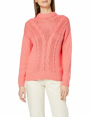 Dorothy Perkins Women's Coral Cable Jumper Pullover Sweater 6