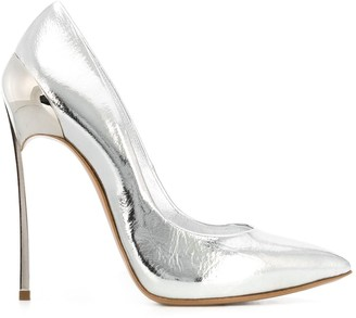 Casadei Metallic High Heel Pumps