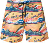 Paul Smith mackerel print swimming shorts