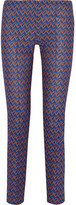 Missoni Crochet-knit Slim-leg Pants - Blue