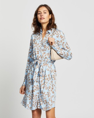 Only Alma LS All-Over Print Dress