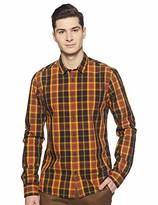 Scotch & Soda Men's Mini-Check Shirt Slim fit