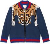 Gucci Children's bomber with tiger