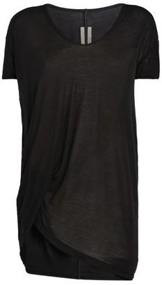 Rick Owens Sheer V-Neck T-Shirt