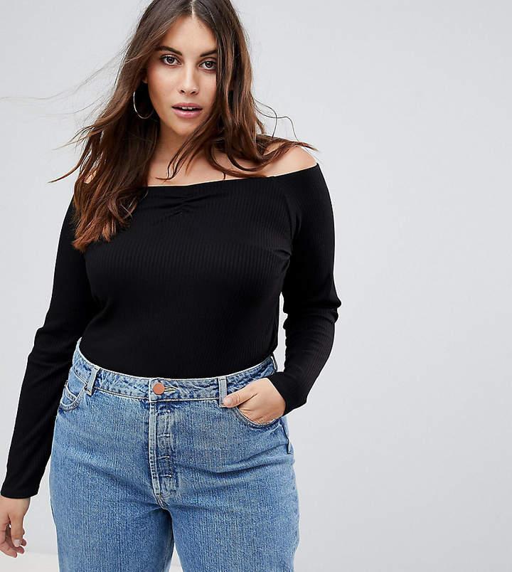 e0f973db51a Asos Black Off Shoulder Tops For Women - ShopStyle UK