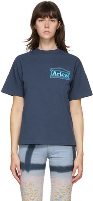 Aries Blue Temple T-Shirt