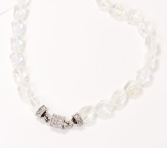Kirks Folly Crystal Magnetic Necklace