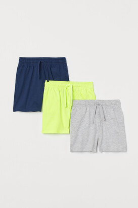 H&M 3-pack Cotton Jersey Shorts
