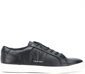 Calvin Klein NY logo sneakers