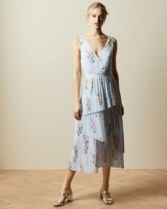 Ted Baker Woodland Sleeveless Tiered Dress