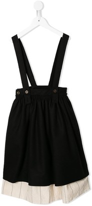 Little Creative Factory Kids Flared Suspender Skirt