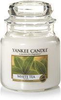 Yankee Candle Classic medium jar white tea