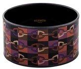 Hermes Optique Chaine d'Ancre Extra Wide Enamel Bracelet
