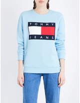 Tommy Jeans Brand logo jersey sweatshirt